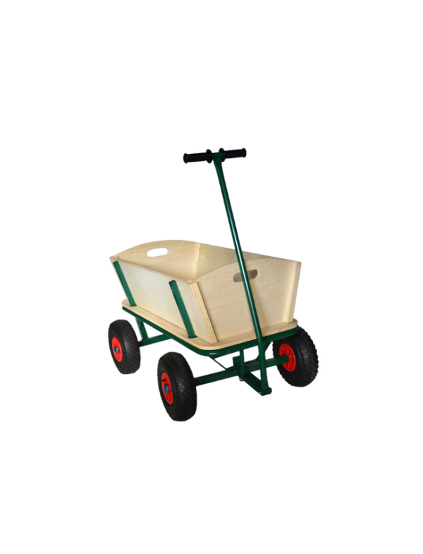 houten bolderkar bolderwagen strandkar