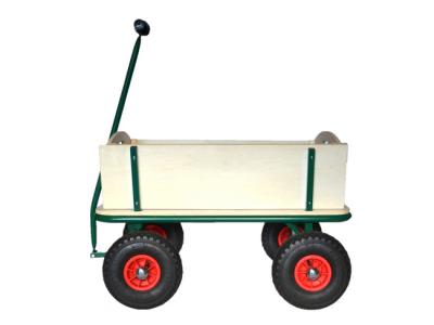 houten bolderkar bolderwagen strandkar trek