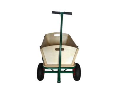 houten bolderkar bolderwagen strandkar trekkar