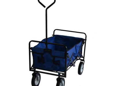 opvouwbare bolderkar bolderwagen inklapbaar blauw