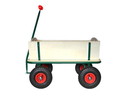 houten bolderkar rood