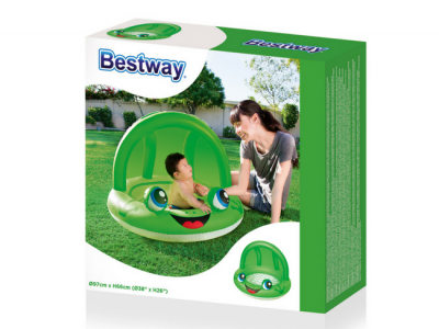 bestway kinderzwembadje groen