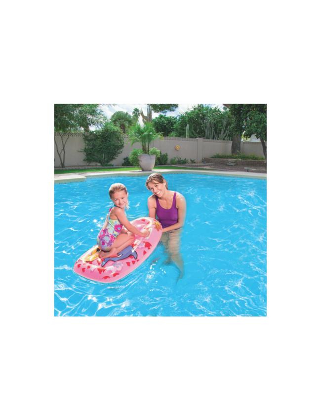 Bestway opblaasbare surfplank luchtbed roze seasondm for Zwembad artikelen