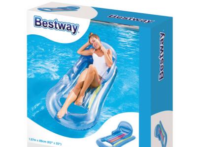 bestway loungebed blauw