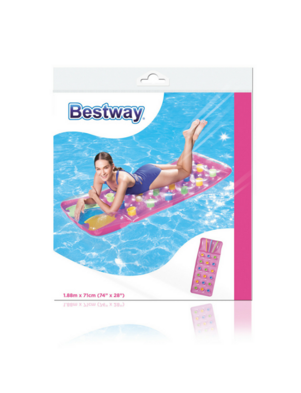 bestway luchtbed roze