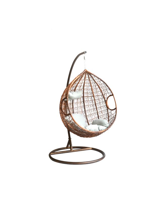 Hangstoel Swing Egg.Hangstoel Eggy Schommelstoel Rattan Swining Chair Seasondm