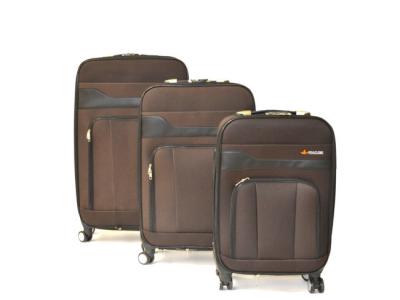 reiskoffer set softcase bruin