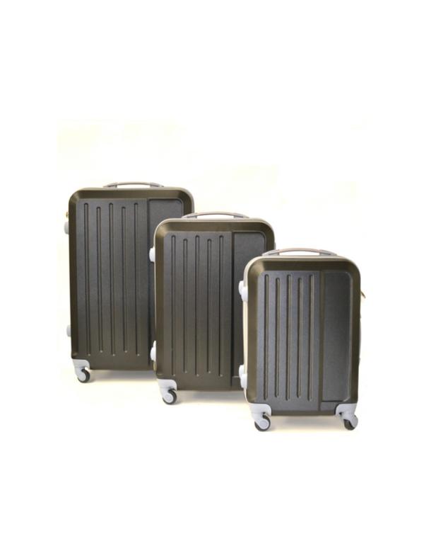 reiskoffer set zwart
