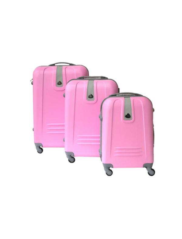 reiskoffer vb roze set