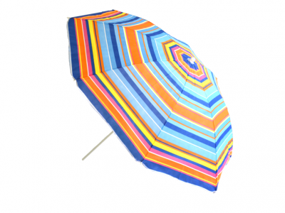 parasol strand regenboog
