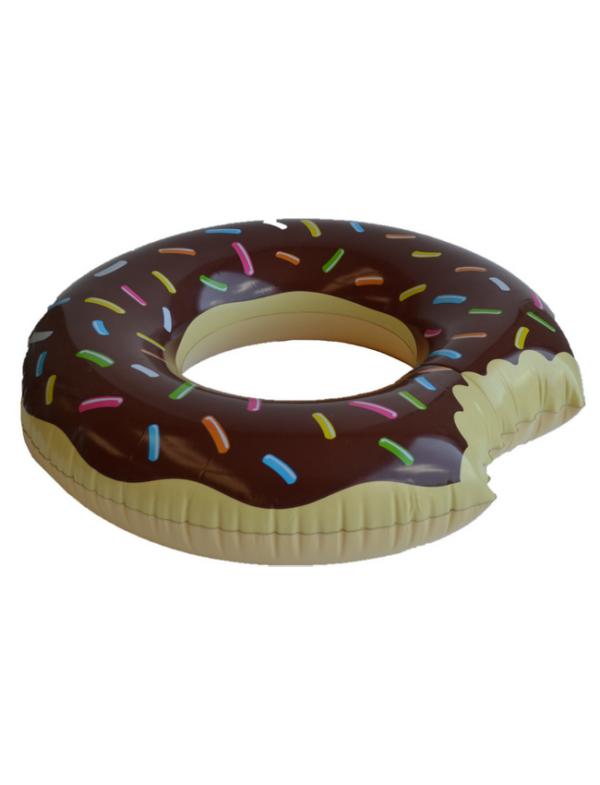 zwemring donut 90 chocola