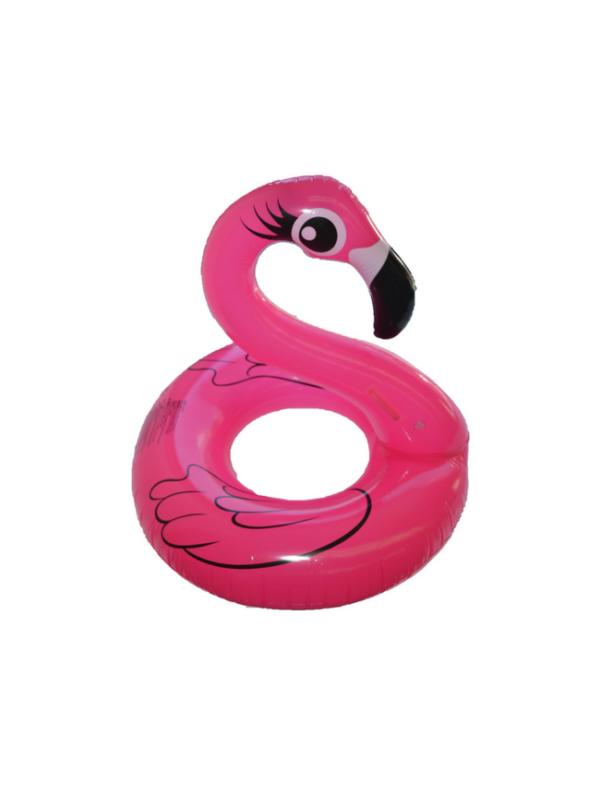 zwemring flamingo roze