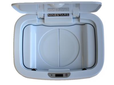 luieremmer prullenbak thrashcan ninestars sensor automatisch blauw deksel