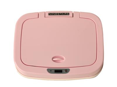 luieremmer prullenbak thrashcan ninestars sensor automatisch roze afgesloten