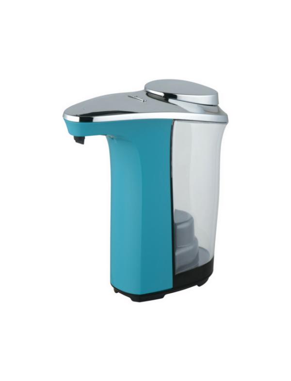 no touch soap dispenser zeepdispenser met sensor automatisch 500ml blauw
