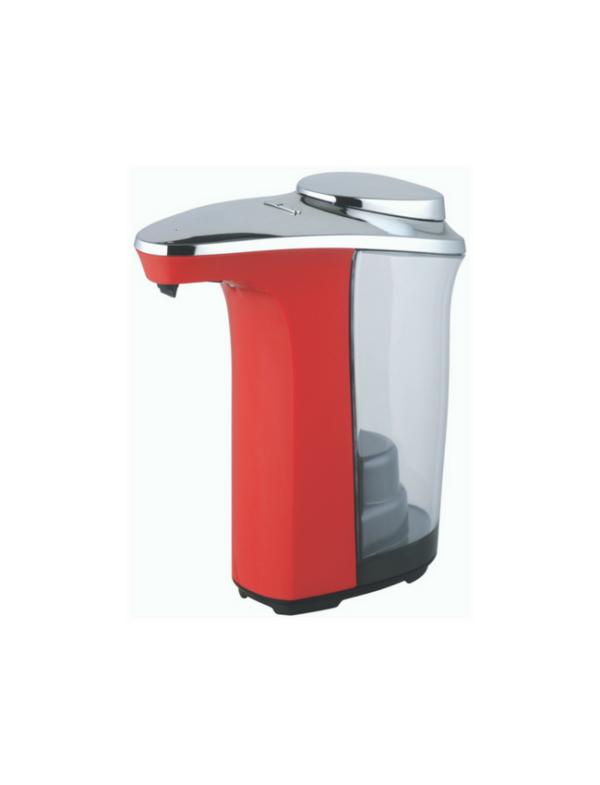 no touch soap dispenser zeepdispenser met sensor automatisch 500ml rood