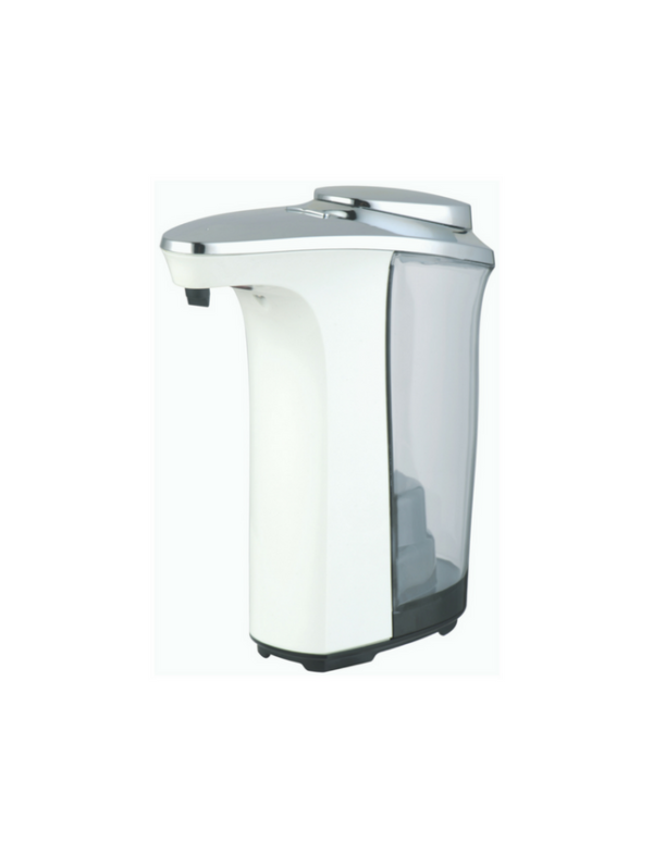 no touch soap dispenser zeepdispenser met sensor automatisch 500ml wit