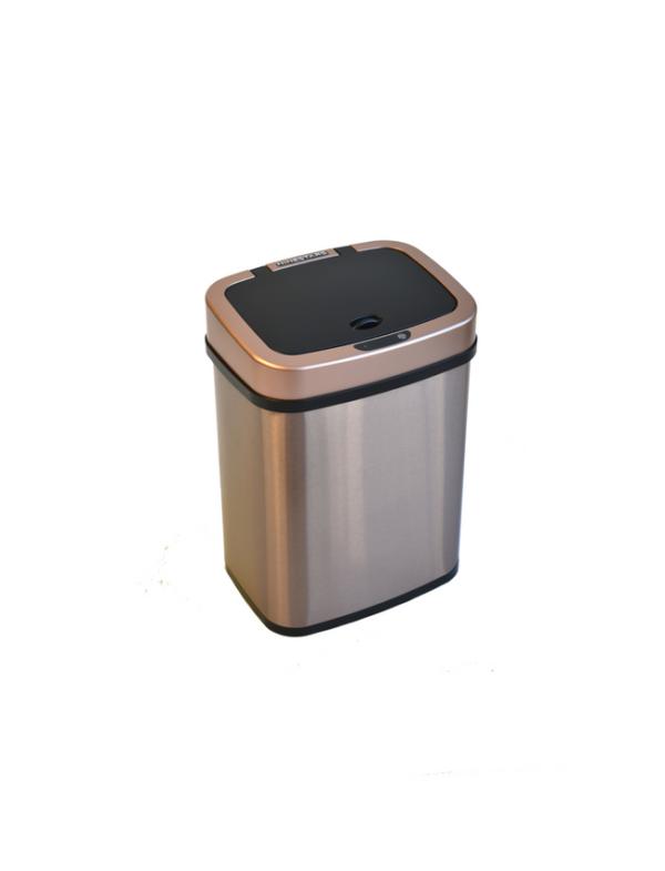 prullenbak afvalbak automatisch sensor ninestars 12liter classic