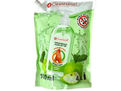 Handzeep hervulling refill cleanhands appel