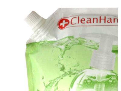 handzeep hervulling refill soap cleanhands schenkdop