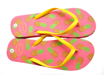 teenslippers dames zomer badslippers ananas roze