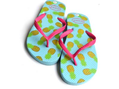 teenslippers dames zomer badslippers ananas aqua paar
