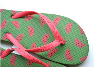 teenslippers dames zomer badslippers watermeloen groen