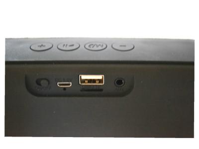 bluetooth speaker luidspreker zwart functies