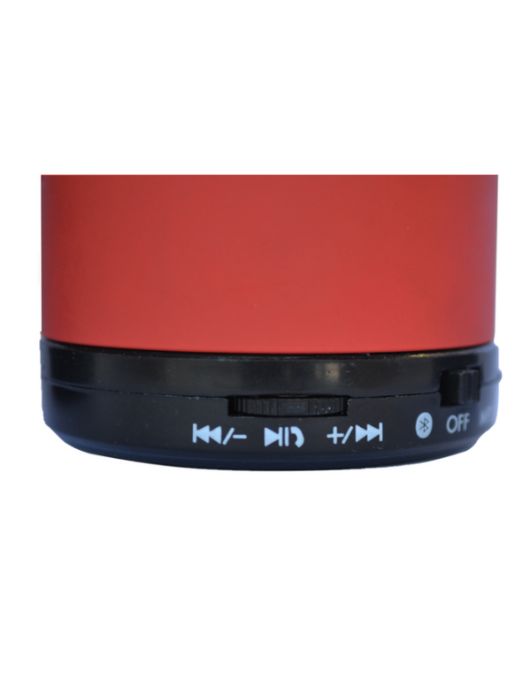 bluetooth speaker rond mini rood luidspreker