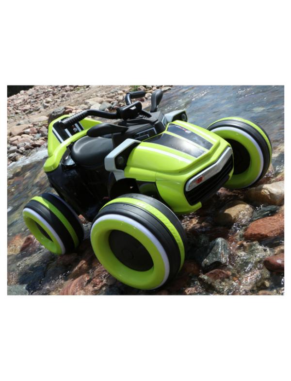 elektrische kinder quad accu groen