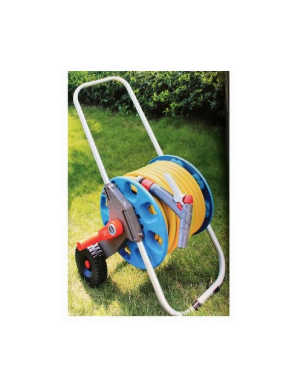 slangenwagen 50meter tuinhaspel garden tuin hose reelcart bewatering