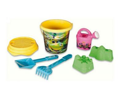 strandspeelgoed emmerset beach toys 7delig geel