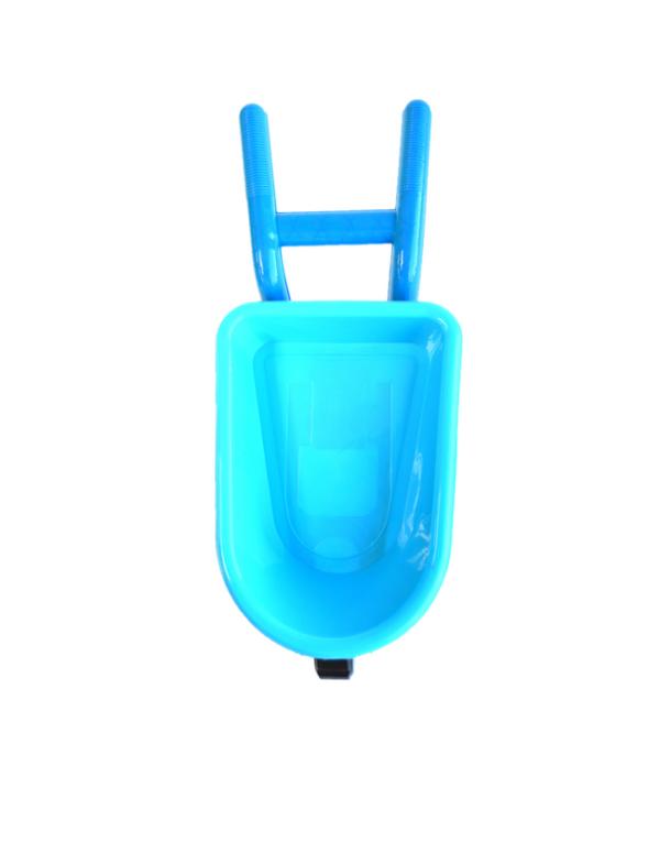 strandspeelgoed kruiwagen beach toys 6delig blauw boven
