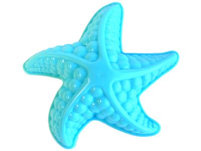strandspeelgoed kruiwagen beach toys 6delig blauw ster