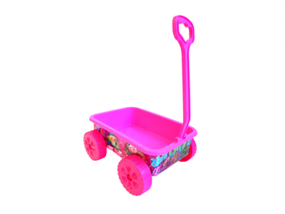 strandspeelgoed wagentje beach toys 6delig roze beach