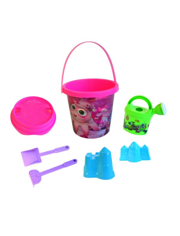 strandspeelgoed emmerset beach toys roze