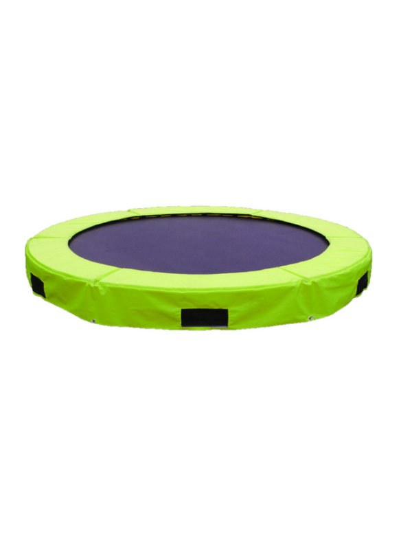 inground trampoline 244cm inground outdoor groen