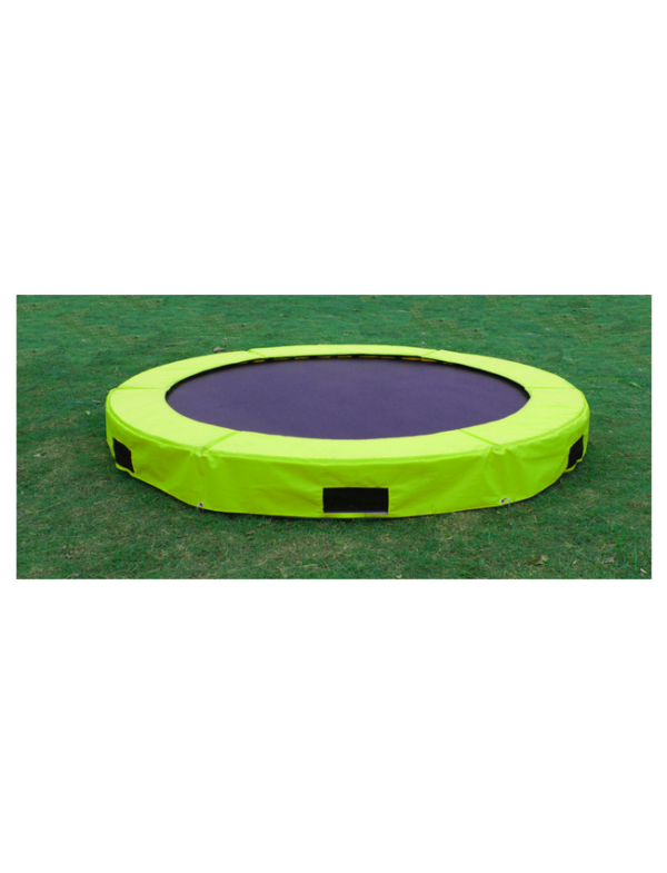 trampoline 244cm inground outdoor limegreen