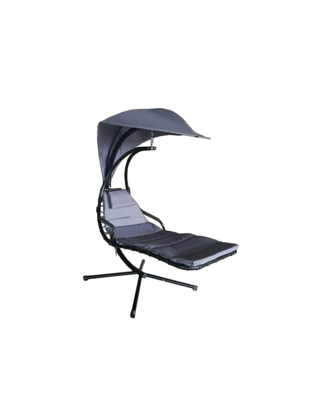 Hangstoel met zweef paraplu