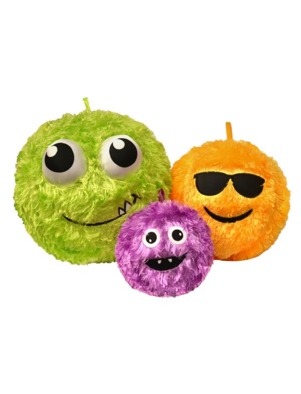 fuzzy bal emoji cooly cheeky dummy