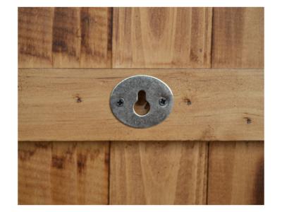houten klok XL