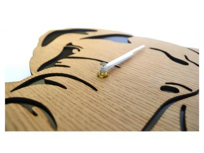 houten klok olifant wandklok