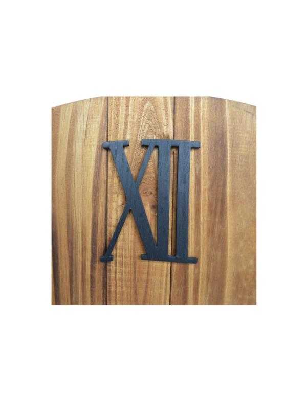 houten klok xl 3d