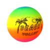Rainbow beach ball