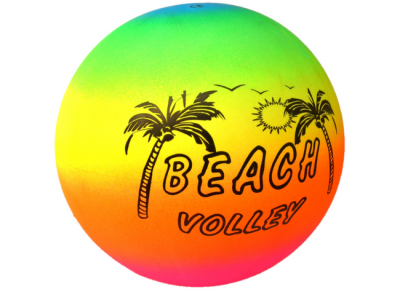 Rainbow beach ball