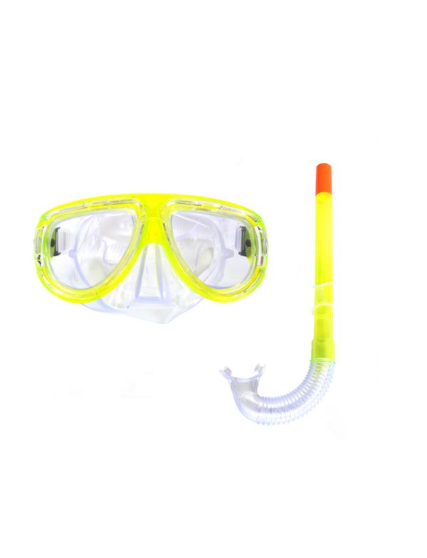 snorkel geel