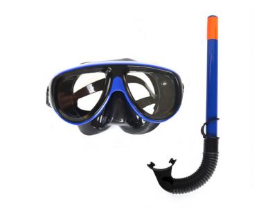 snorkel blauw zwart
