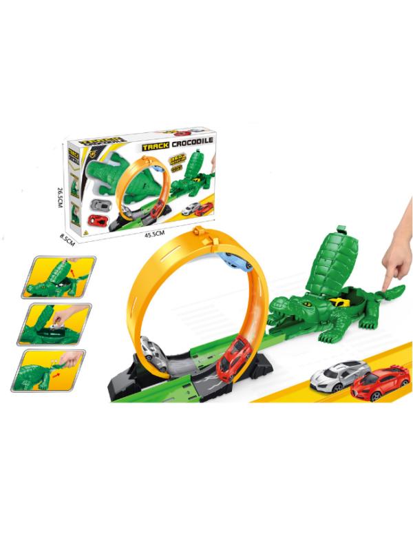 racebaan krokodil