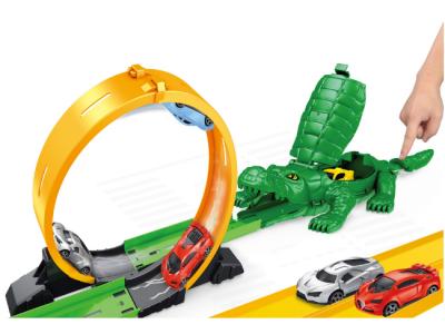 racebaan krokodil lanceerbaan