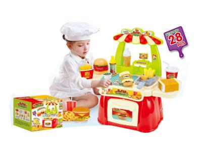 speeltafel mini fast food restaurant kind